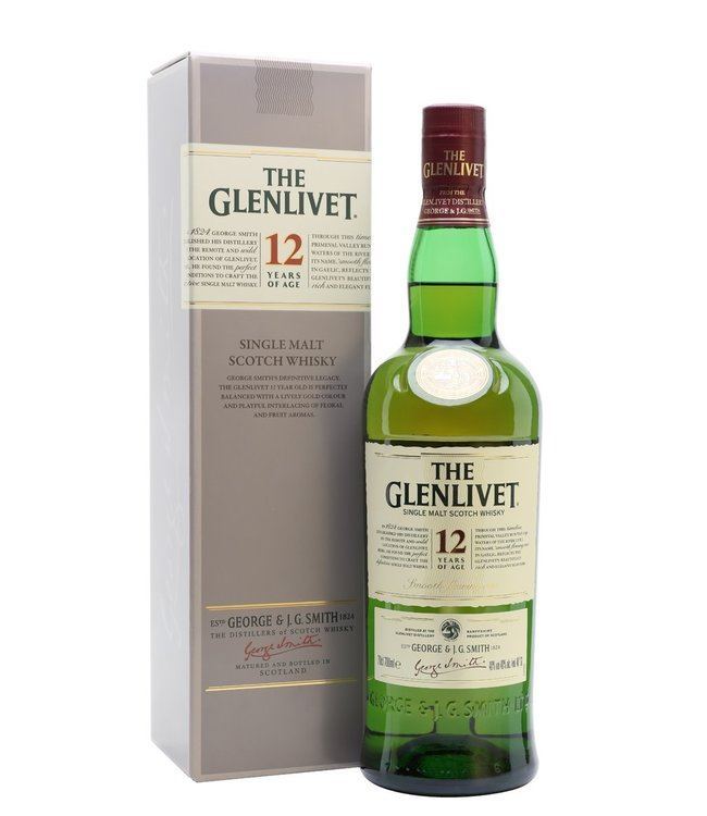 THE GLENLIVET 12 YEAR OLD THE GLENLIVET 12 YEAR OLD