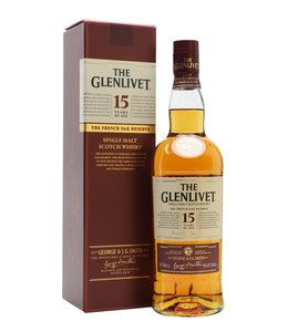 THE GLENLIVET FRENCH OAK 15 YEAR OLD THE GLENLIVET FRENCH OAK 15 YEAR OLD