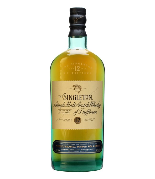 THE SINGLETON OF/DE DUFFTOWN 12 YEAR OLD THE SINGLETON OF/DE DUFFTOWN 12 YEAR OLD