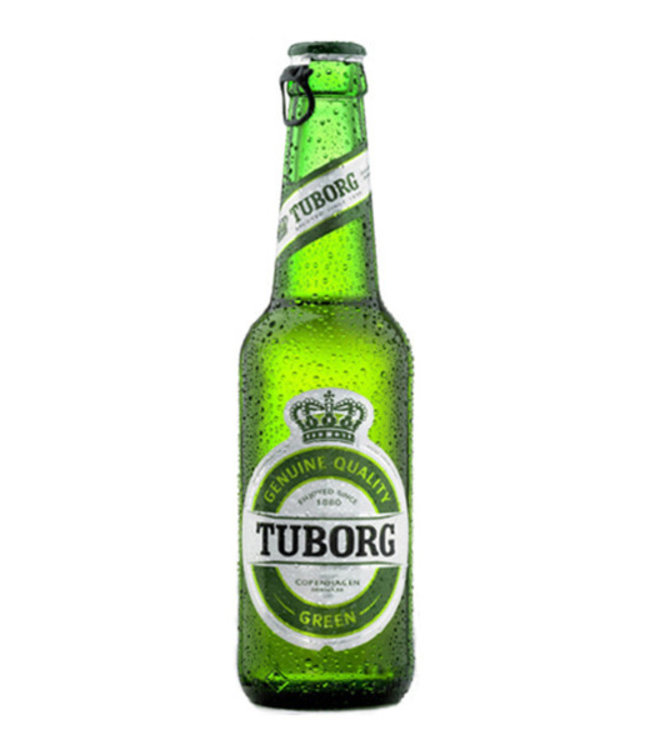 TUBORG GREEN 6X330ML BOTTLES TUBORG GREEN