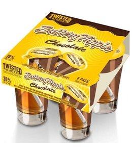 TWISTED SHOTZ BUTTERY NIPPLE CHOCOLATE TWISTED SHOTZ BUTTERY NIPPLE CHOCOLATE
