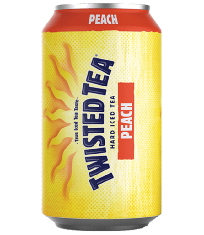 TWISTED TEA PEACH ICED TEA TWISTED TEA PEACH ICED TEA