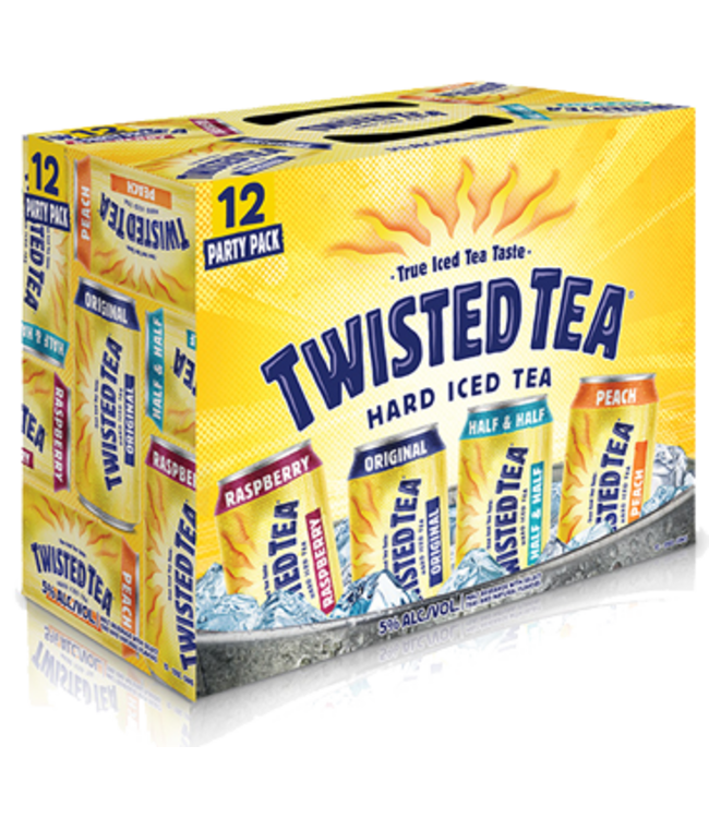 TWISTED TEA VARIETY PACK TWISTED TEA VARIETY PACK