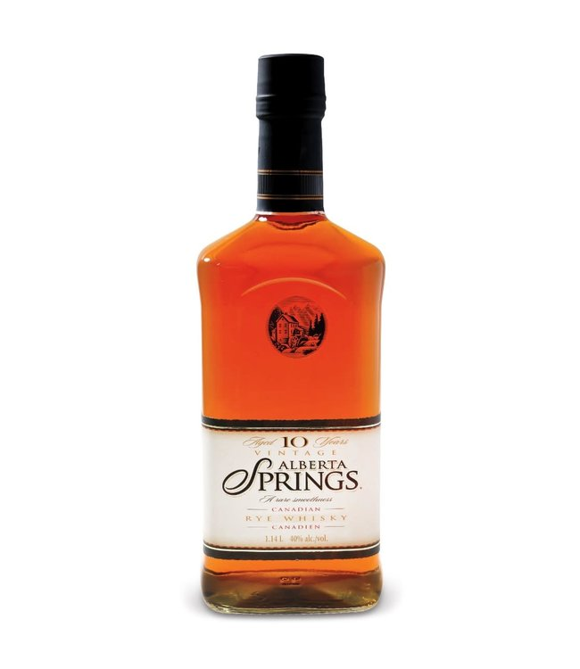 ALBERTA SPRINGS WHISKY ALBERTA SPRINGS WHISKY