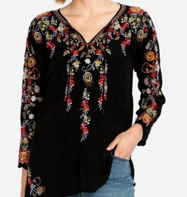 Autumn bloom tunic