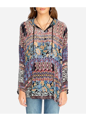 Johnny Was Karma Burnout Aztec Hoodie