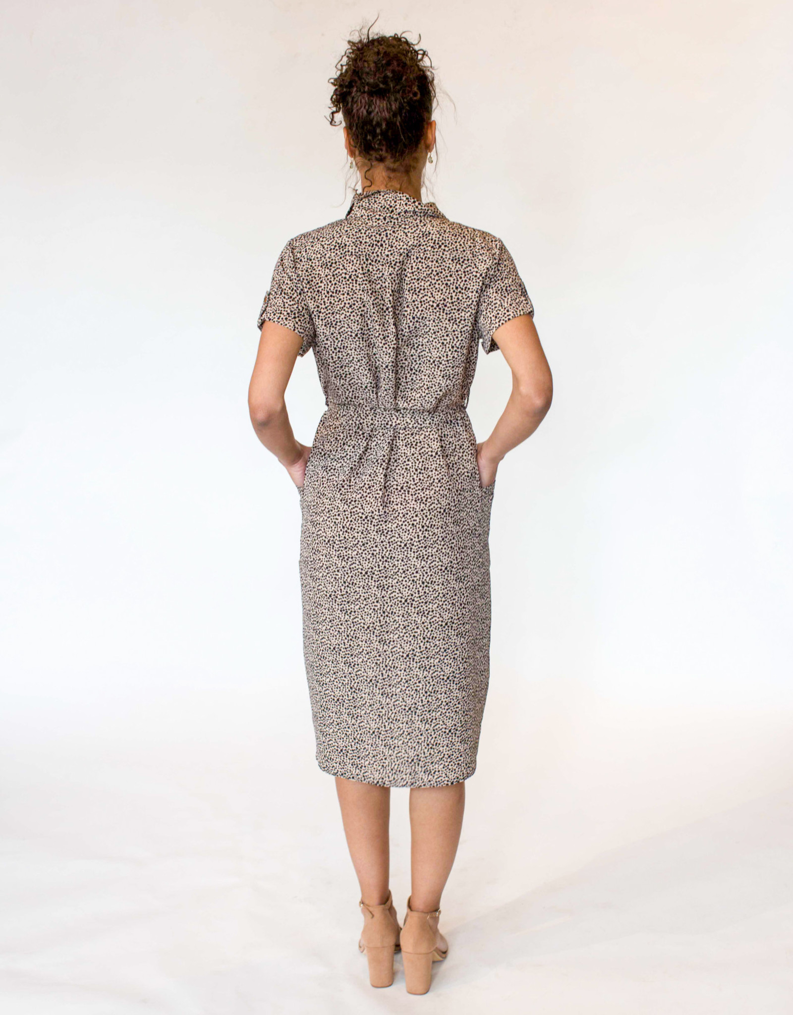 Brave and True Arrival Shirt Dress