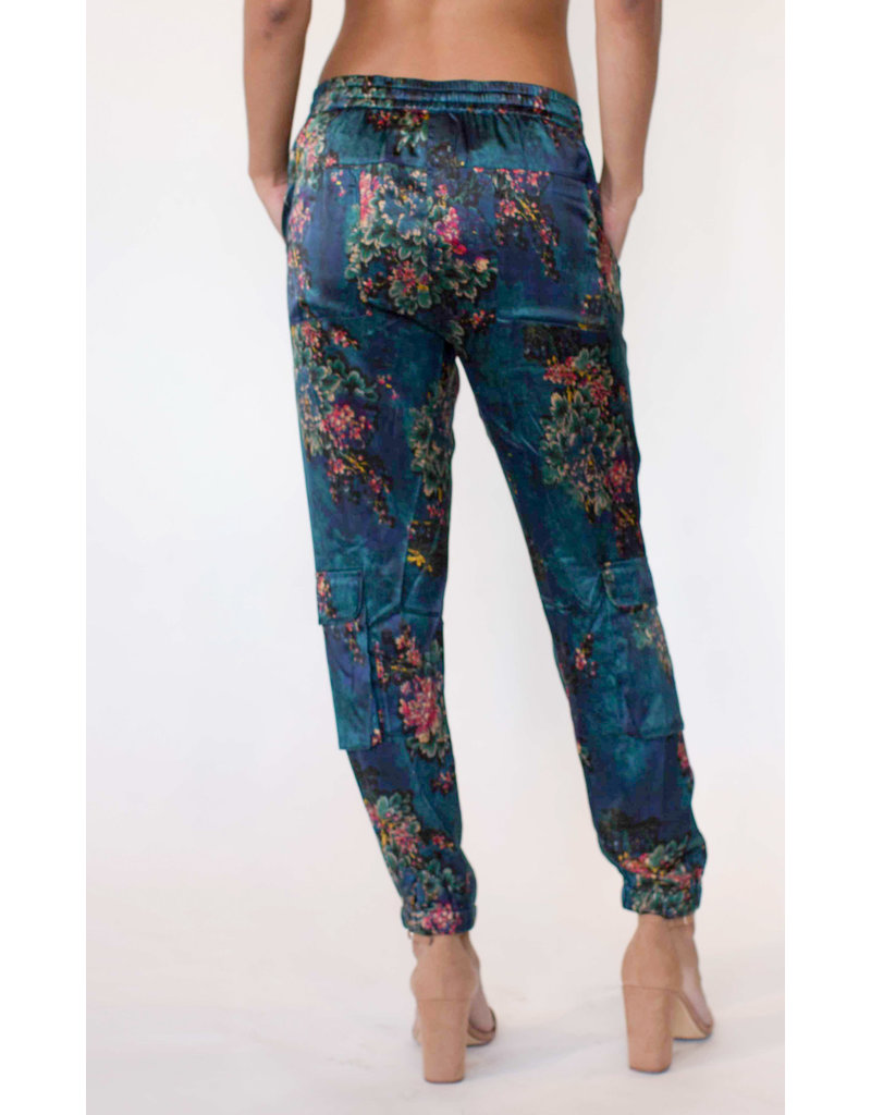 Johnny Was Marcelle Stretch Silk Pant