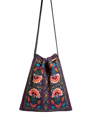 Johnny Was Johnny Was Izamal Drawstring Tote
