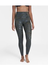 Spanx Printed Faux Leather Leggings