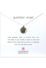 Dogeared Guardian Angel Necklace SS