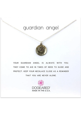 Dogeared Dogeared Guardian Angel Necklace SS