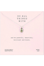 Dogeared Do all Things with Love Necklace SS
