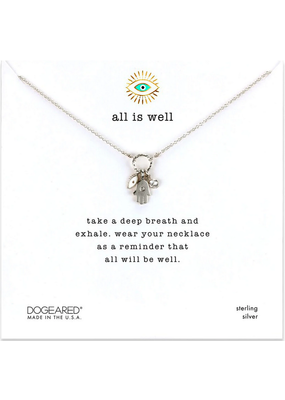 Dogeared Dogeared All is Well Necklace SS