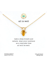 Dogeared All is Well Necklace GF
