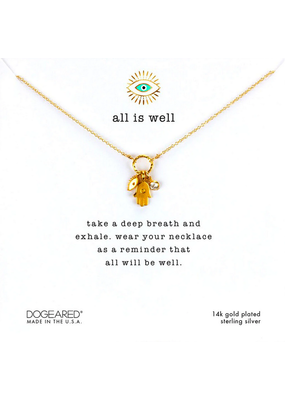 All is Well Necklace GF