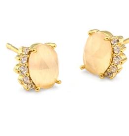 Tai Stone Post Earrings