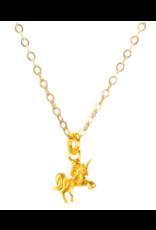 mini unicorn gold