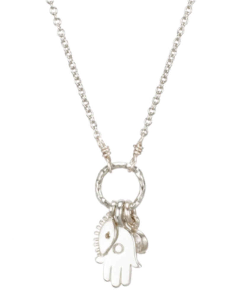 all is well necklace SS