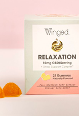 Winged CBD Relaxation gummies