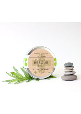 Little Flower Co Little Flower Co Mini Rescue Balms