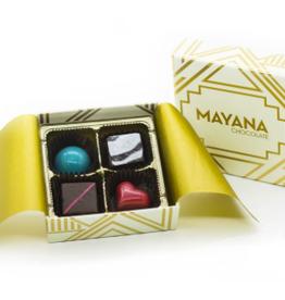 Mayana Chocolate 4 piece signature box