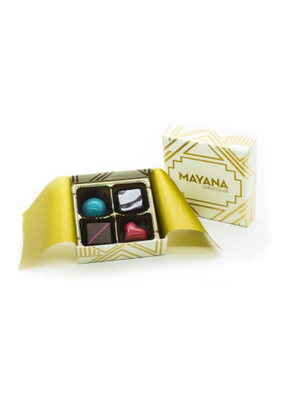 Mayana Chocolate 4 Piece Signature Box