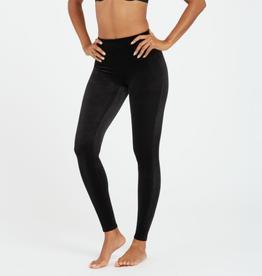 Black Velvet Legging