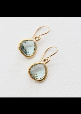 Katie Waltman Jewelry Small Bezel Earrings