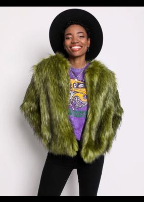SpiritHoods SpiritHoods Jade Fox Fur Bomber