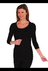 Tees by Tina 3/4 Sleeve Tunic Slip Dress