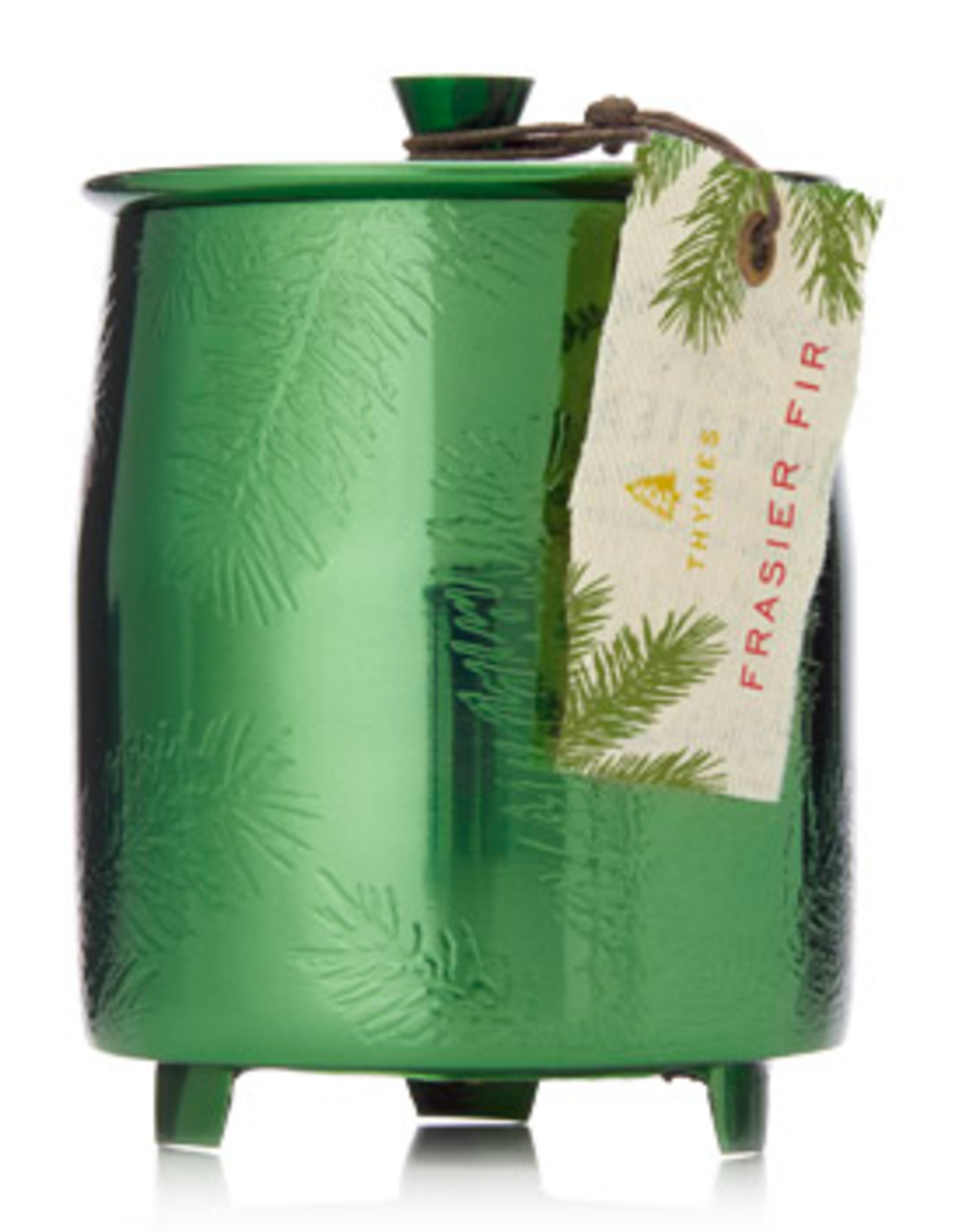 Frasier Fir Green Metal Tin Candle Medium