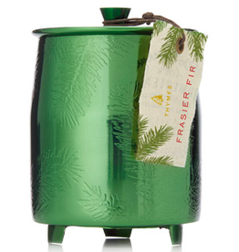 Frasier Fir Green Metal Tin Candle Medium