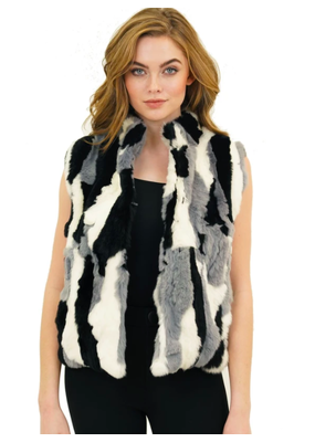 Love Token Love Token Ellison Fur Vest