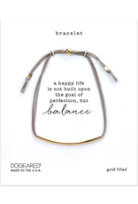 Dogeared GF Balance Bracelet