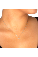 Dogeared Tiny Crescent Necklace
