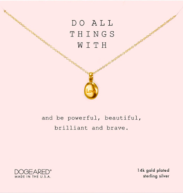 Do all things with love GOLD PEBBLE