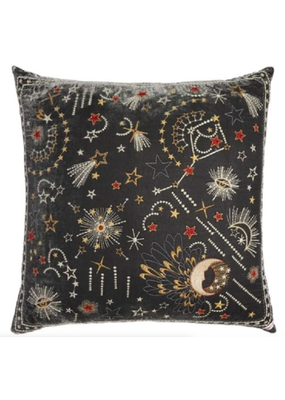 Johnny Was Callisto Velvet Pillow