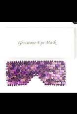 Gemstone eye mask
