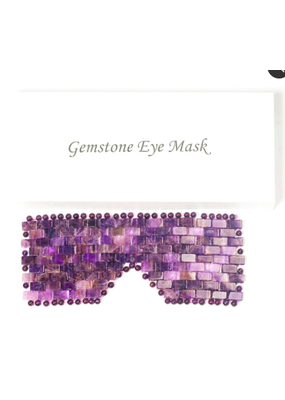 ZAQ ZAQ Gemstone Eye Mask