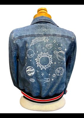 Hattie Pearl Galaxy Denim jacket