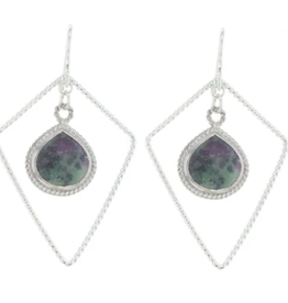 Lotus Jewelry Studio Silver Sherwood Earrings