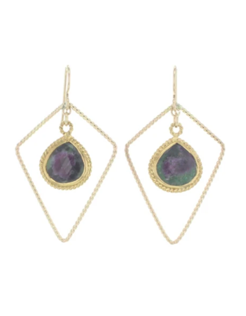 Lotus Jewelry Studio Gold Sherwood Earrings