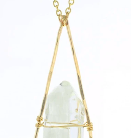 Lotus Jewelry Studio Gold Chalet Necklace
