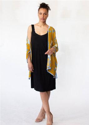 Knitwit Gold Bloom Kimono