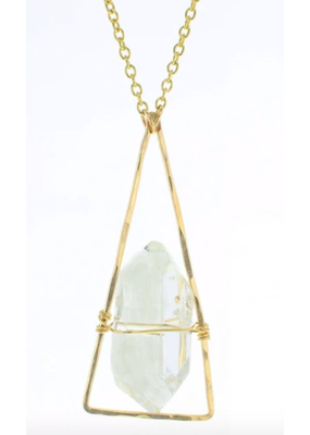 Lotus Jewelry Studio Gold Chalet Necklace