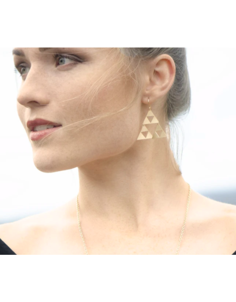 Lotus Jewelry Studio Gold Talara Earrings