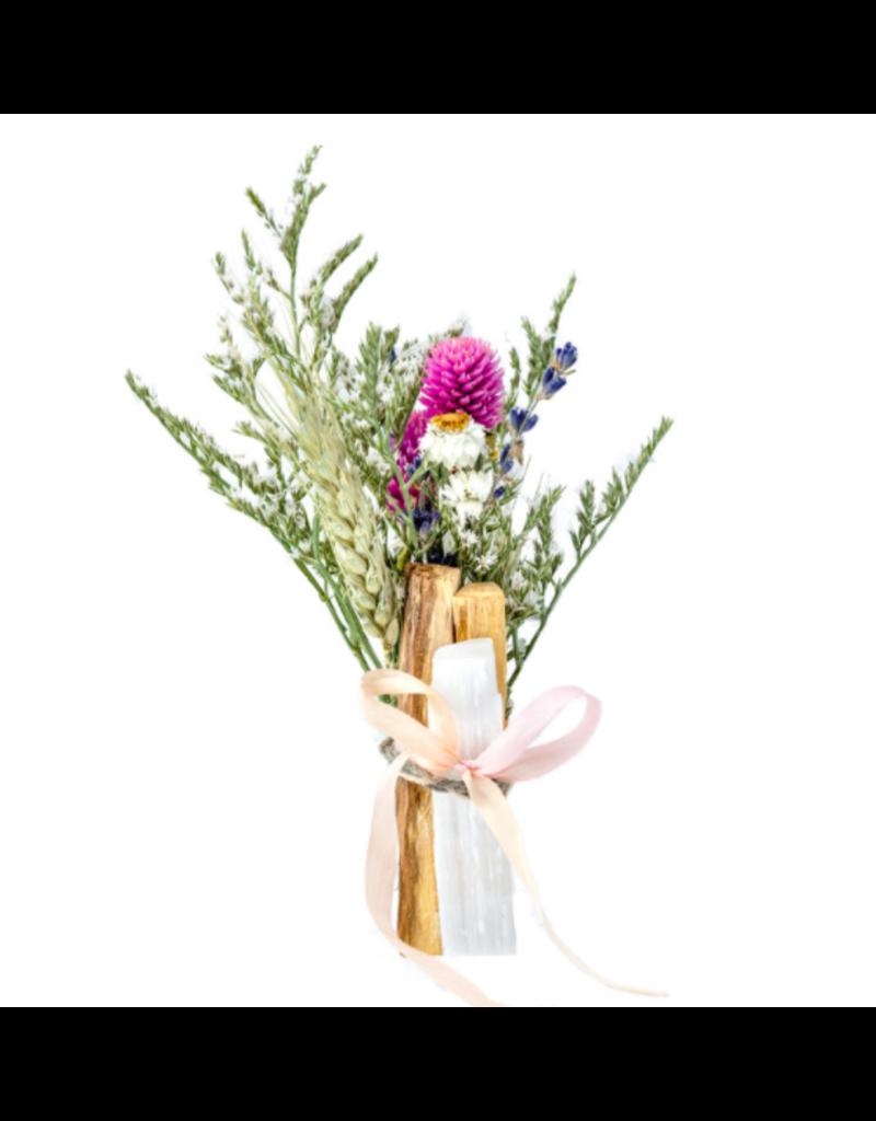 Good living Bridal Boquet w/selenite
