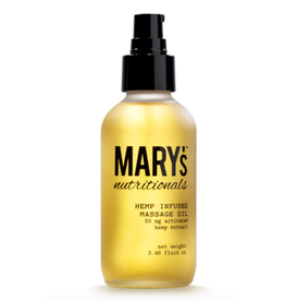 Mary's Nutritionals Massage Oil