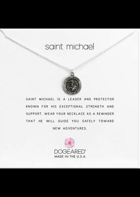 Dogeared Saint Michael Necklace SS